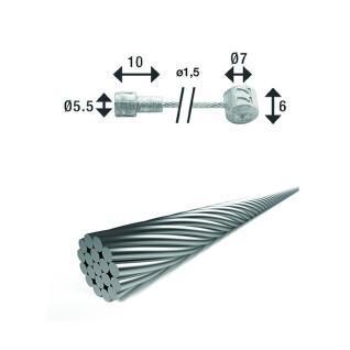Bremskabel mit Doppelanschluss XLC br-x86 2250 mm