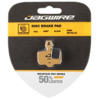 Jagwire Pro Semi-Metallic Scheibenbremsbelag SRAM Rot
