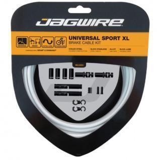 Jagwire Universal-Sport-Bremse XL-Bremskabel-Kit-Weiß