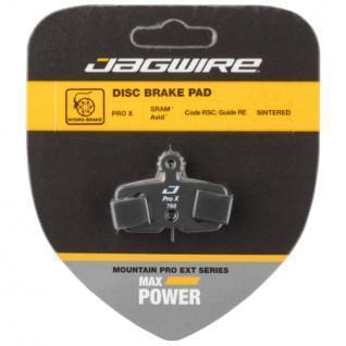 Jagwire Pro Extreme gesinterter Scheibenbremsbelag SRAM Rot